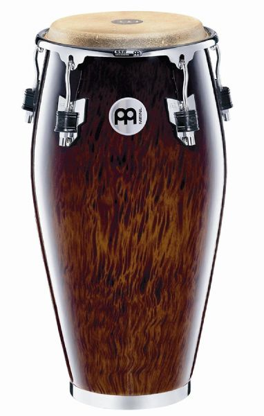 Meinl Percussion - 11 inch Professional Series Wood Conga - Brown Burl - MP11BB